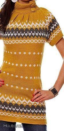 Neuletunika / Knitted tunic