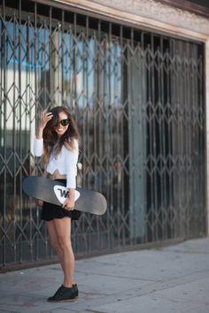 skate girl.