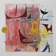 "Original art for sale at UGallery.com   YouAndWhatArmy? by Karin Bruckner   $500   mixed media artwork   17"" h x 17"" w   http://www.ugallery.com/mixed-media-artwork-youandwhatarmy"