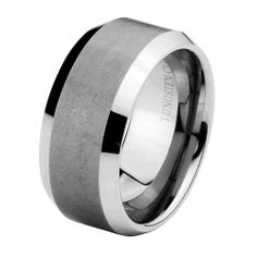 Valentines Day 10mm Cobalt Free Tungsten Carbide COMFORT-FIT Wedding Band Ring for Men and Women (Size 8 to 12) The World Jewelry Center. $18.00. Promptly Packaged with Free Gift Box and Gift Bag. scratch proof. Tungsten has a tendency to break when hit with a hard material