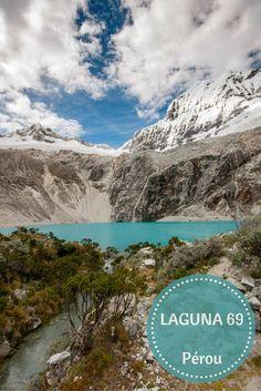 Un voyage au Pérou c'est la garantie de découvrir des randonnées et des treks aux paysages à couper le souffle. Ici près de Huaraz dans la cordillère blanche on vous emmène à la laguna 69. Surement un des plus beaux espaces naturels d'amérique du sud