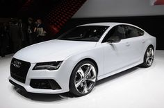 Audi's new range-topping executive GT car has made its global debut at the North American motor show.
