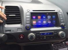 màn hình dvd cho xe honda civic đầu dvd theo xe civic dầu dvd android cho civic 2006-2011