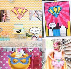 50 temas festa infaltil meninas | Mamãe Plugada