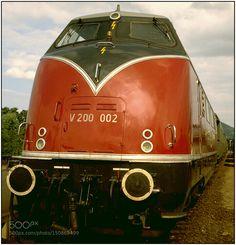 Diesel Locomotive V 200 002 by WilfriedSiebold