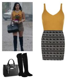 Veronica Lodge - Riverdale by shadyannon on Polyvore featuring polyvore fashion style WearAll Calvin Klein clothing