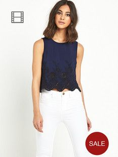 river-island-cropped-top