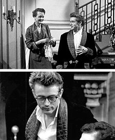 "James Dean photographed by Roy Schatt on the set of ""The Thief"", 1955."