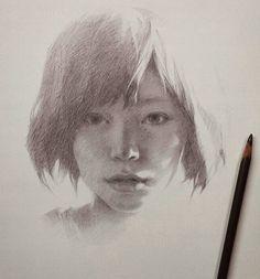 Ustalıkla resmedilmiş portreler  #portre #resim #sanat #ressam #yetenek