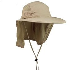 Lenikis Unisex Outdoor Activities UV Protecting Sun Hats 1026C2 Khaki. Read more description on the website.