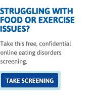 Online Eating Disorder Screening | National Eating Disorders Association