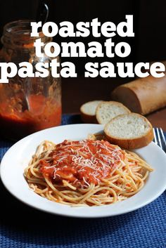 Stir and Scribble: Roasted Tomato Sauce please follow me @ http://www.pinterest.com/jeniferkane01/