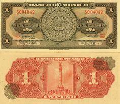 Billete de un peso 1970