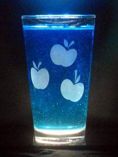 Applejack Cutie Mark  Pint Glass by SeriousPonies on Etsy, $10.00