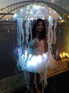 Qualle Kostüm selber machen   Kostüm Idee zu Karneval, Halloween & Fasching