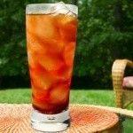 Černý ledový čaj