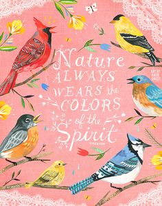 Colors of The Spirit vertical print by thewheatfield on Etsy
