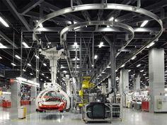 Jean Nouvel - Ferrari Factory, Maranello, Italy