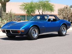 1972 Chevrolet Corvette Convertible W/HT