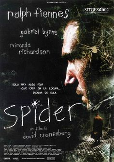 SPIDER, directed by Cronenberg in 2002. #CronenbergProject #CronenbergEvolution