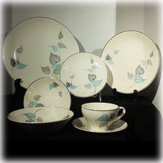 Mid Century Modern Dinnerware via http://MyClassicJewelry.com/shop