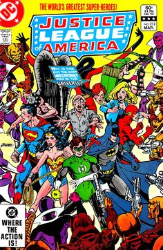 Justice League of America #212 - George Perez