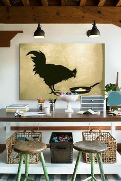 Chicken and Egg by Banksy Canvas Print by Banksy Street Art on @HauteLook