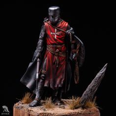 Knight Hospitaller of Malta Museum quality Middle Ages Dark Ages Knights Hospitaller, Knights Templar, Military Figures, Military Diorama, Medieval Knight, Medieval Armor, Norman Knight, Christian Warrior, Fantasy Miniatures