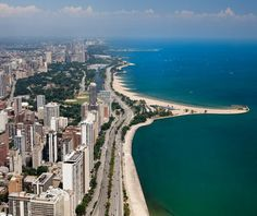 Lake Shore Drive, Chicago. One of my personal favorites.