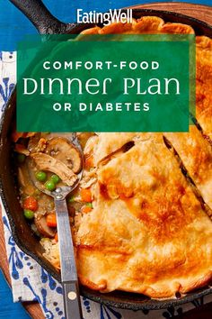 To show you how you can enjoy the comfort foods you love, without stressing about your diabetes, we've compiled a week of cozy favorites that we know you'll love. #comfortfood #healthyrecipes #healthycomfortfood #healthyrecipes Iron Skillet Recipes, Cast Iron Recipes, Skillet Meals, Healthy Vegetable Recipes, Healthy Dinner Recipes, Stew Chicken Recipe, Dutch Oven Cooking, Healthy Comfort Food