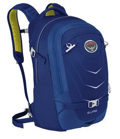 Latest Osprey Packs Ellipse Daypack Overview: Blue/Black/Orange/Green