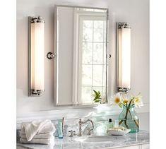 """Kensington Pivot Rectangular Mirror #potterybarnRegular: 23"""" wide x 3"""" deep x 24"""" high Large: 28.5"""" wide x 3"""" deep x 36"""" high reg. price $199 special $179"""