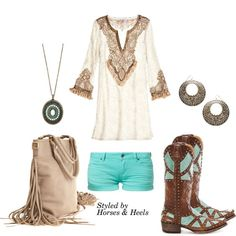 Boho Turquoise | Horses & Heels