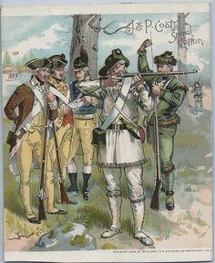 21 beste afbeeldingen van J. & P. Coats Army Trade Cards