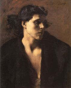 chantelandbooks-deactivated2013: A Spanish Woman, John Singer Sargent