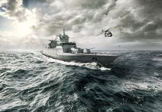 Lürssen constructs all varieties of high-quality surface naval vessels for the German Navy and other international navies. No other shipyard...Read More...