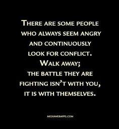 Time to walk away...