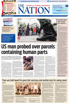 US man probed over parcels containing human parts -- The NATION Front Page, November 17, 2014