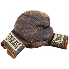 Vintage Everlast Boxing Gloves ($149) ❤ liked on Polyvore featuring decorative objects