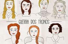 Guerra dos Tronos e as suas mulheres guerreiras*