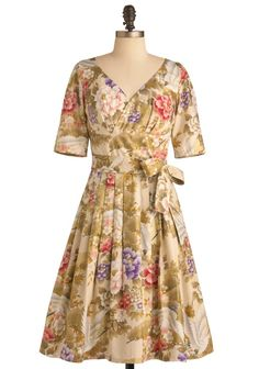 Love this dress, very pretty floral print Modest Clothing for Women