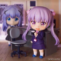 Anime figure photography.