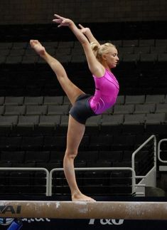 Nastia Liukin on balance beam Gymnastics Poses, Artistic Gymnastics, Olympic Gymnastics, Gymnastics Girls, Olympic Games, 2004 Olympics, Summer Olympics, Olympic Trials, Jordyn Wieber