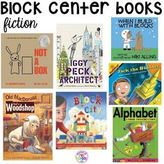 To set up the block center in your early childhood classroom (with ideas, tips and book lists) and block center freebies Source by gripngrace Block Center Preschool, Preschool Centers, Preschool Books, Preschool Activities, Book Activities, Learning Centers, Literacy Centers, Reggio Classroom, Preschool Classroom