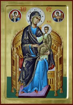 Religious Icons, Religious Art, Virgin Mary Painting, Christian Mysticism, Roman Church, Russian Icons, Blessed Mother Mary, Byzantine Icons, Orthodox Christianity