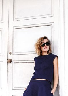 Get the winter blues, with a Parisian touch. Carmen Hamilton of Chronicles of Her makes a case for navy dressing at http://www.countryroad.com.au/livewithus/carmen-hamilton-new-navy.html