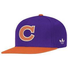 6ec451595a5 NCAA Clemson Tigers Men s Snapback Hat ( Purple Orange