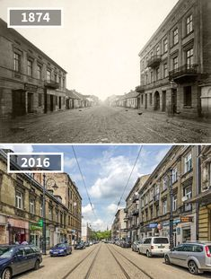 Before & After Pics Showing How The World Has Changed Over Time By Re.Photos - Beauty of Planet Earth Then And Now Pictures, Before And After Pictures, Old Pictures, Old Photos, Photo Voyage, Contemporary Photographers, Paris City, Jolie Photo, Tour Eiffel