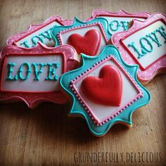 Plaques for Valentines