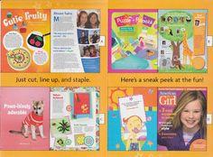 American Girl Magazine Printable